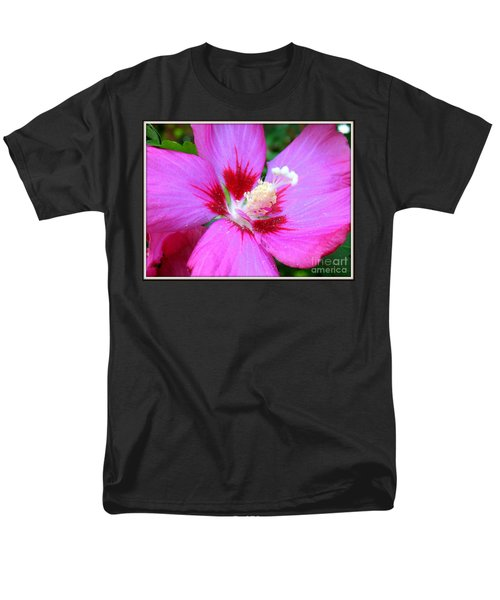 Men's T-Shirt  (Regular Fit) featuring the photograph Rose Of Sharon Hibiscus by Patti Whitten