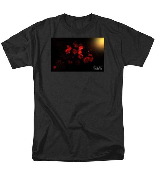 Roses And Black Men's T-Shirt  (Regular Fit)