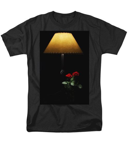 Roses By Lamplight Men's T-Shirt  (Regular Fit) by Ron White