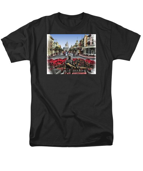 Roy And Minnie Mouse Walt Disney World Men's T-Shirt  (Regular Fit) by Thomas Woolworth