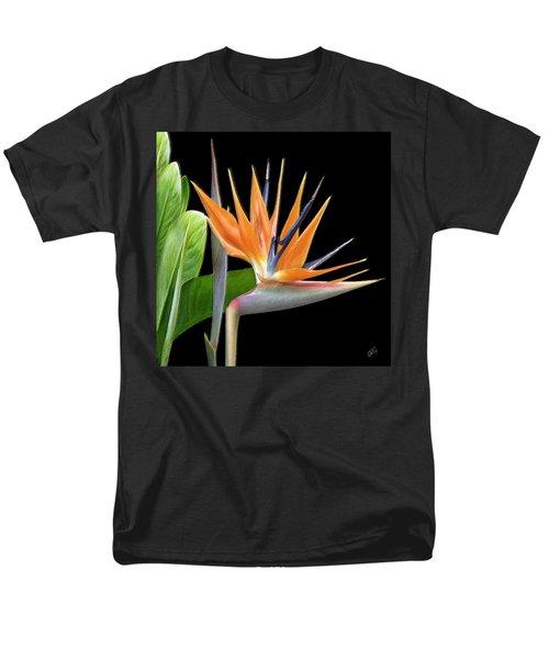 Royal Beauty I - Bird Of Paradise Men's T-Shirt  (Regular Fit) by Ben and Raisa Gertsberg