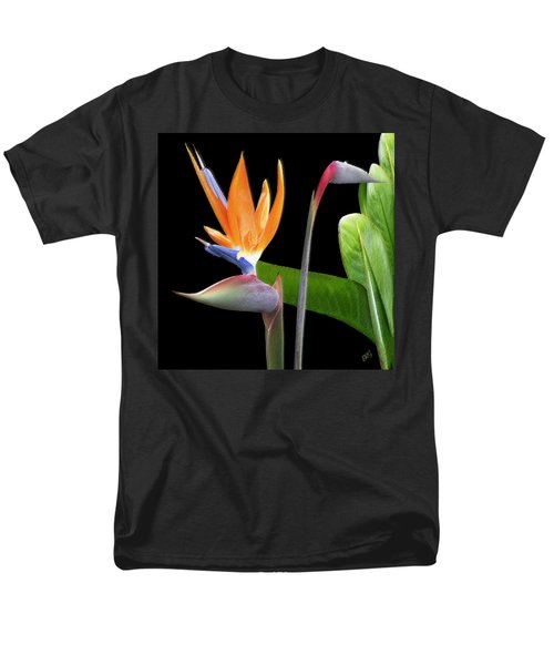 Royal Beauty II - Bird Of Paradise Men's T-Shirt  (Regular Fit) by Ben and Raisa Gertsberg