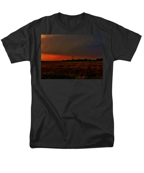 Rozel Tornado On The Horizon Men's T-Shirt  (Regular Fit) by Ed Sweeney