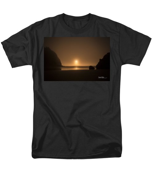 Ruby Beach Sunset Men's T-Shirt  (Regular Fit)