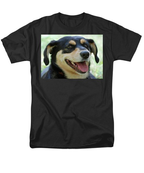 Men's T-Shirt  (Regular Fit) featuring the photograph Ruby by Lisa Phillips