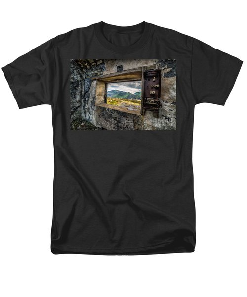 Ruin With A View  Men's T-Shirt  (Regular Fit) by Adrian Evans