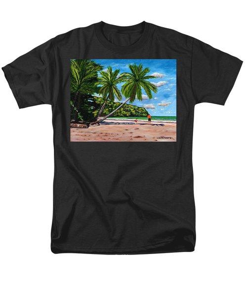 Running Men's T-Shirt  (Regular Fit) by Laura Forde