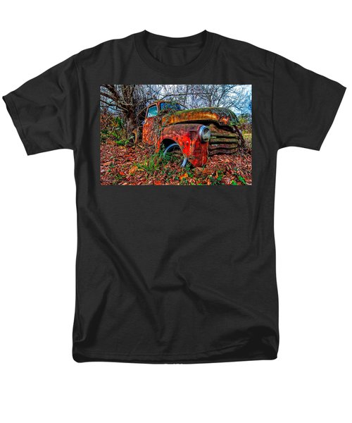 Men's T-Shirt  (Regular Fit) featuring the photograph Rusty 1950 Chevrolet by Andy Crawford