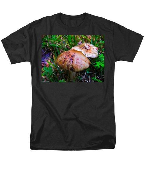 Rusty Mushroom Men's T-Shirt  (Regular Fit) by Nick Kirby