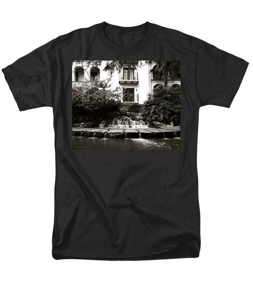 Sa River Walk 001-2013 Men's T-Shirt  (Regular Fit) by Shawn Marlow