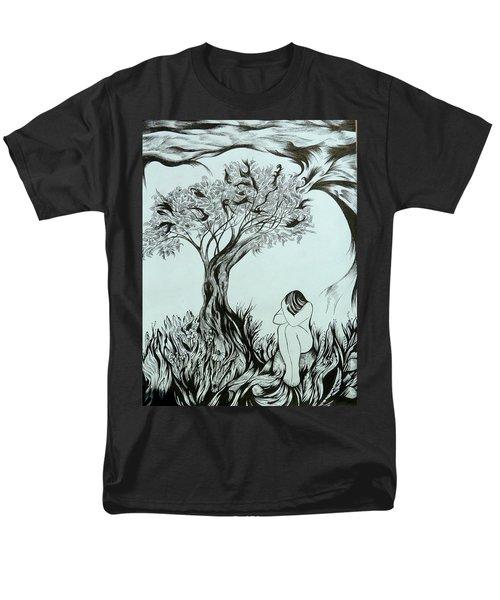Sadness Men's T-Shirt  (Regular Fit)