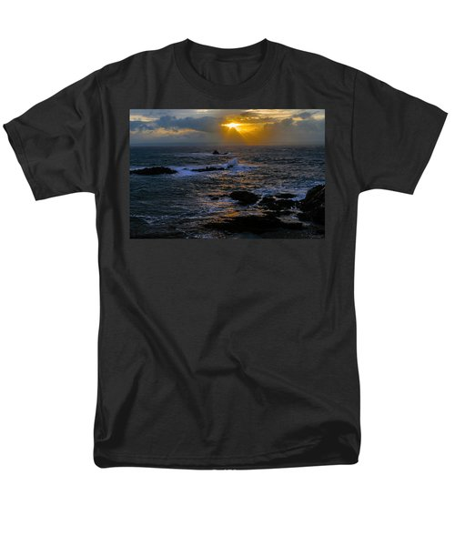 Sail Rock Sunrise Men's T-Shirt  (Regular Fit) by Marty Saccone