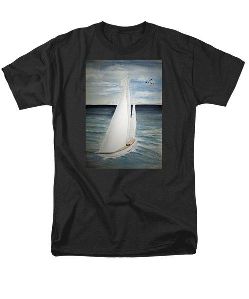 Sailing Men's T-Shirt  (Regular Fit) by Elvira Ingram