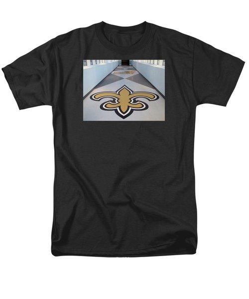 Saints Are Coming - Benson Towers - New Orleans La Men's T-Shirt  (Regular Fit) by Deborah Lacoste