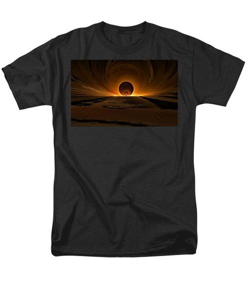 Salsa Sunrise Men's T-Shirt  (Regular Fit) by GJ Blackman
