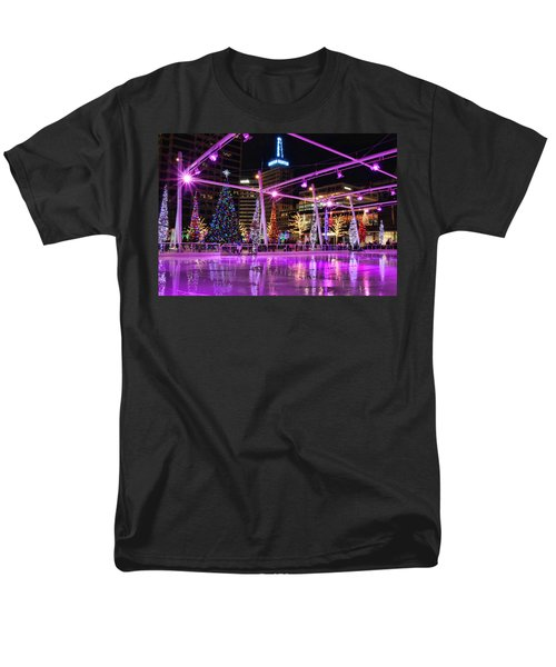 Men's T-Shirt  (Regular Fit) featuring the photograph Salt Lake City - Skating Rink - 2 by Ely Arsha