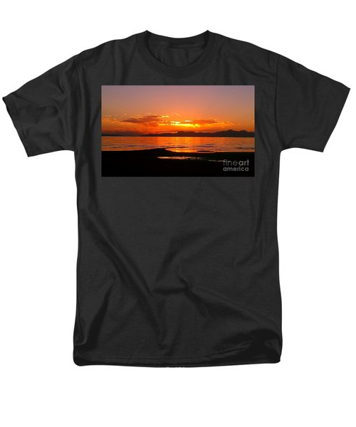 Salt Lakes A Fire Men's T-Shirt  (Regular Fit)
