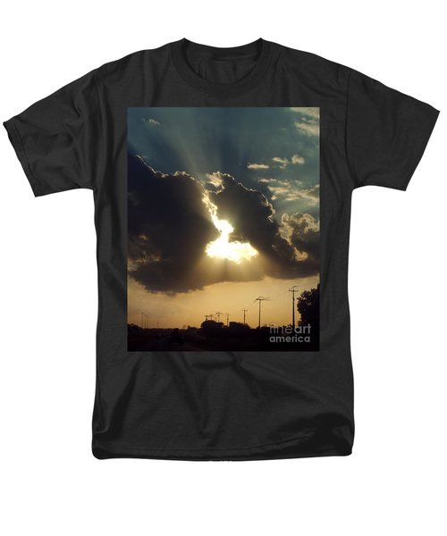 San Antonio Sunset Men's T-Shirt  (Regular Fit) by Peter Piatt