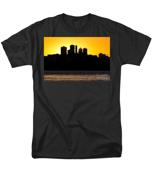 San Francisco Silhouette Men's T-Shirt  (Regular Fit) by Kate Brown