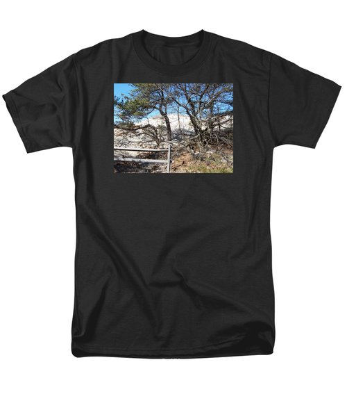 Sand Dune With Trees Men's T-Shirt  (Regular Fit) by Catherine Gagne