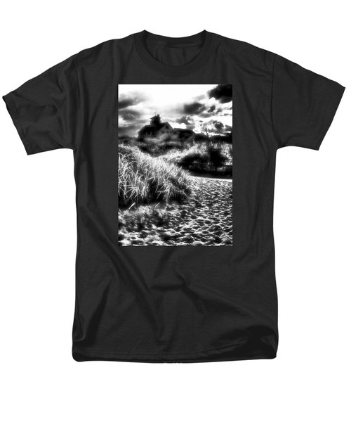 Men's T-Shirt  (Regular Fit) featuring the photograph Sand In Ma Shoes by Robert McCubbin