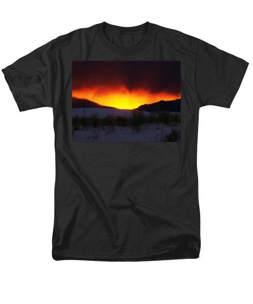 Sands Sunset  Men's T-Shirt  (Regular Fit) by Jessica Shelton