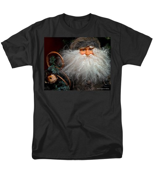 Santa Claus Men's T-Shirt  (Regular Fit) by Christopher Holmes