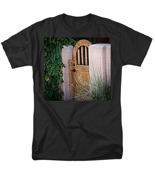 Men's T-Shirt  (Regular Fit) featuring the photograph Santa Fe Gate by Patrice Zinck