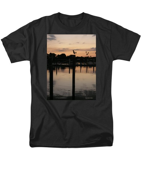 Men's T-Shirt  (Regular Fit) featuring the photograph Sarasota Sunset by Emmy Marie Vickers