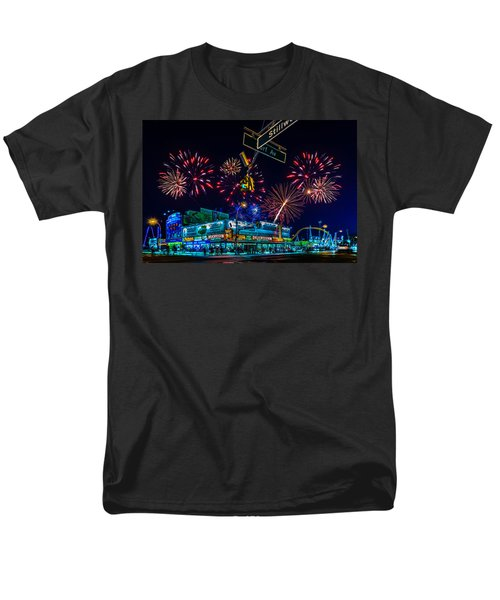 Saturday Night At Coney Island Men's T-Shirt  (Regular Fit) by Chris Lord