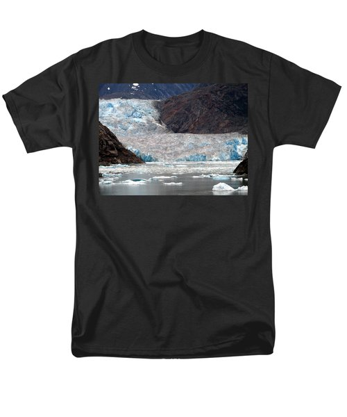 Men's T-Shirt  (Regular Fit) featuring the photograph Sawyer Glacier by Jennifer Wheatley Wolf