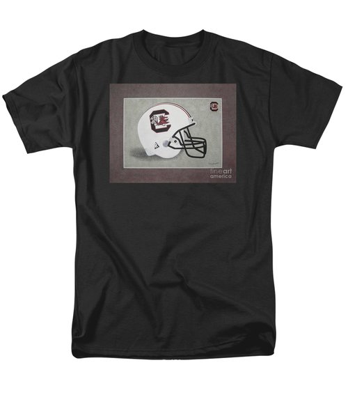 S.c. Gamecocks T-shirt Men's T-Shirt  (Regular Fit) by Herb Strobino