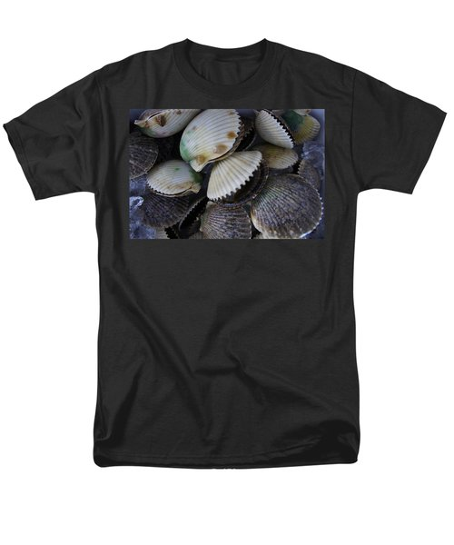 Scallops Men's T-Shirt  (Regular Fit) by Laurie Perry