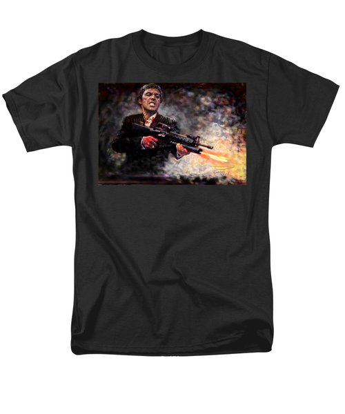 Scarface Men's T-Shirt  (Regular Fit) by Viola El