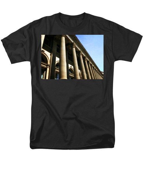 Scottish Rite Building Spokane Washington Men's T-Shirt  (Regular Fit) by Michelle Calkins