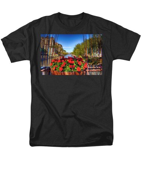 Scottsdale Waterfront Men's T-Shirt  (Regular Fit) by Fred Larson