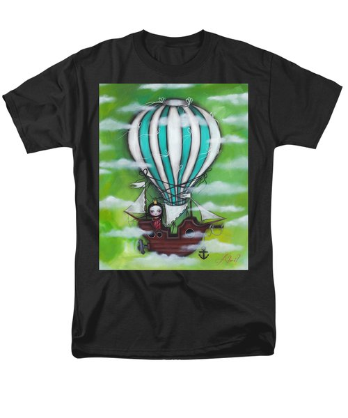 Sea Of Clouds Men's T-Shirt  (Regular Fit) by Abril Andrade Griffith