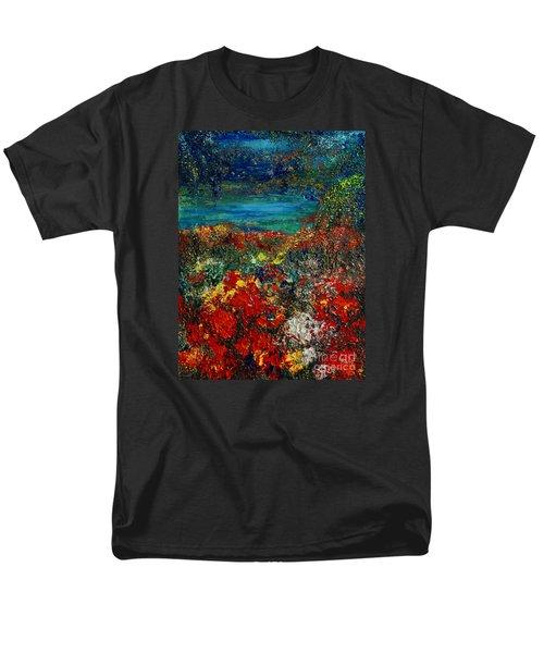 Secret Garden Men's T-Shirt  (Regular Fit) by Teresa Wegrzyn