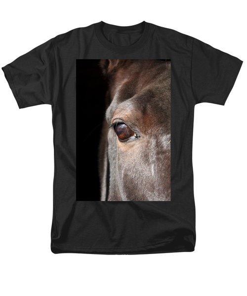 See My Soul Men's T-Shirt  (Regular Fit) by Davandra Cribbie