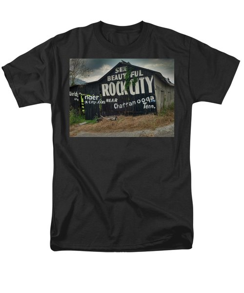 See Rock City Barn Men's T-Shirt  (Regular Fit) by Janice Spivey