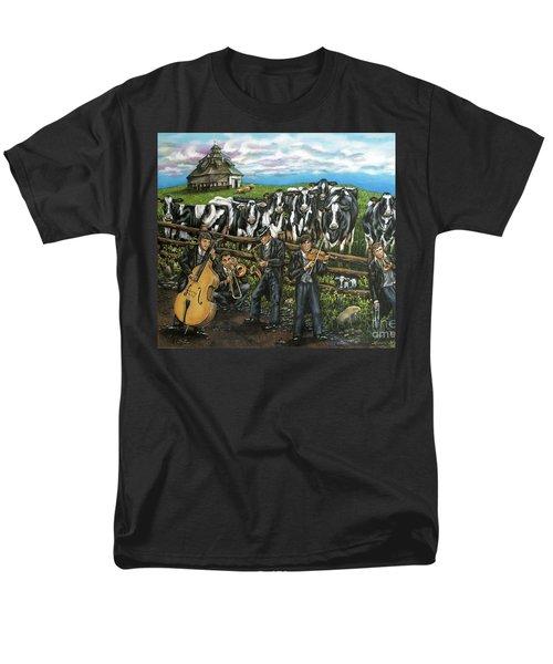 Semi-formal Men's T-Shirt  (Regular Fit) by Linda Simon