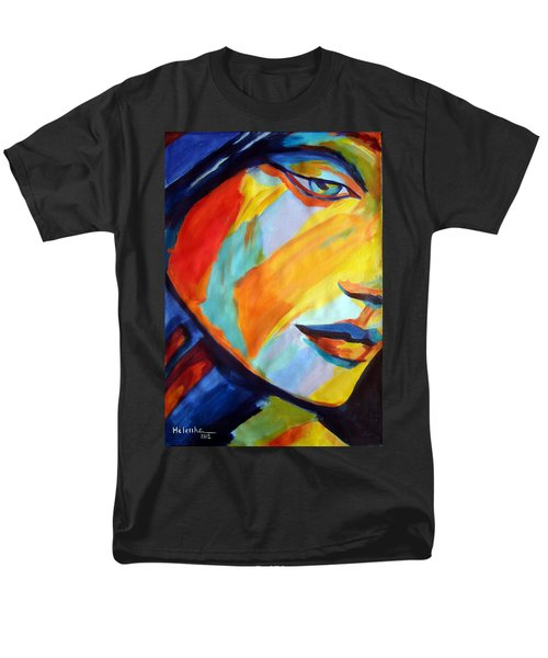 Men's T-Shirt  (Regular Fit) featuring the painting Sentiment by Helena Wierzbicki