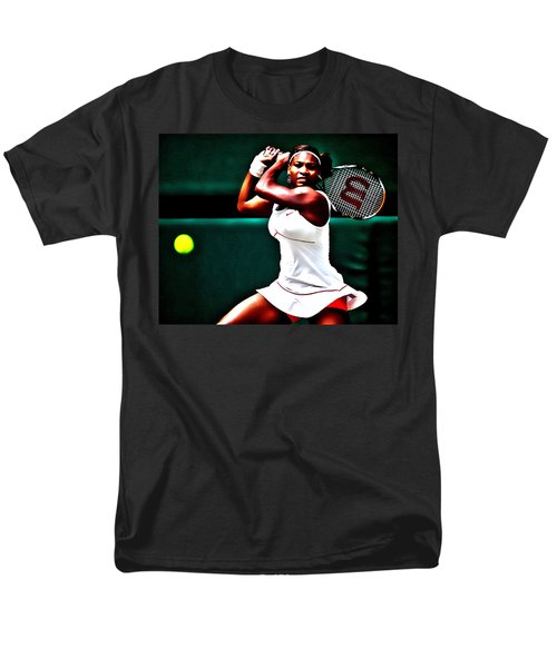 Serena Williams 3a Men's T-Shirt  (Regular Fit) by Brian Reaves