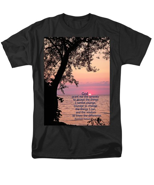 Men's T-Shirt  (Regular Fit) featuring the photograph Serenity by Aimee L Maher Photography and Art Visit ALMGallerydotcom