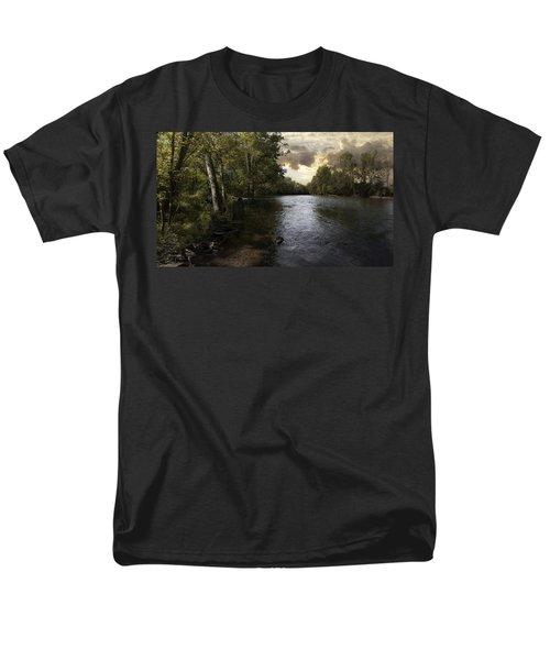 Serenity Men's T-Shirt  (Regular Fit) by Lynn Geoffroy