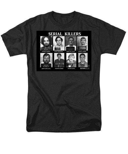 Serial Killers - Public Enemies Men's T-Shirt  (Regular Fit) by Paul Ward