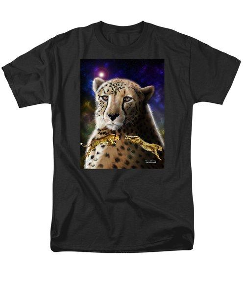 First In The Big Cat Series - Cheetah Men's T-Shirt  (Regular Fit)