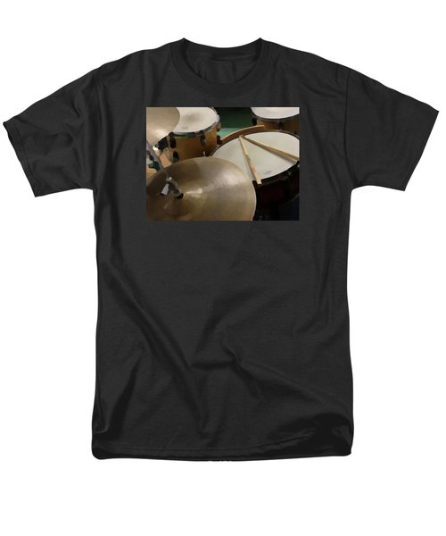 Men's T-Shirt  (Regular Fit) featuring the photograph Set by Photographic Arts And Design Studio