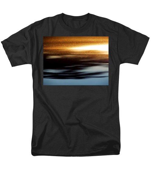 Setting Sun Men's T-Shirt  (Regular Fit) by Prakash Ghai