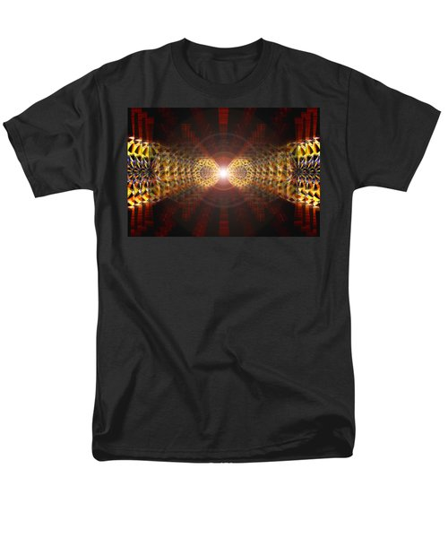 Men's T-Shirt  (Regular Fit) featuring the drawing Seven Sacred Steps Of Light by Derek Gedney